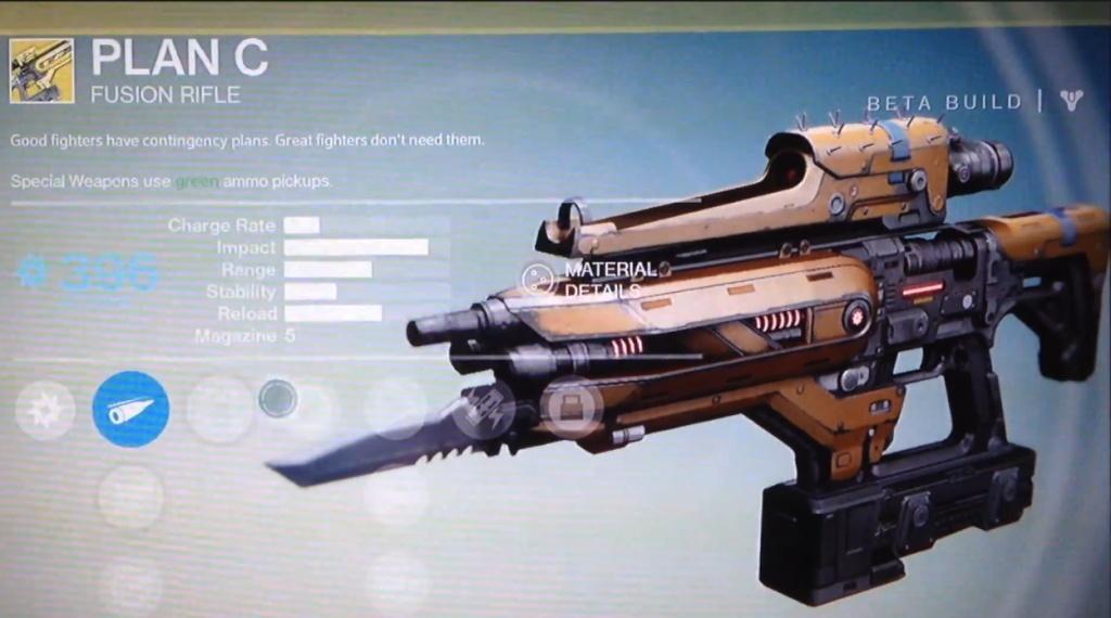Armes spéciales de Destiny (Légendaire/Sniper/Conduit/Closing Time/Pistolet/Gun) 25110
