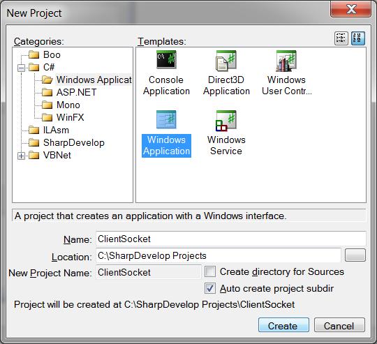 C# Socket Programming Newcli10