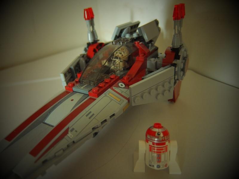 [Revue] Lego Star Wars 75039 V-Wing Starfighter 02910