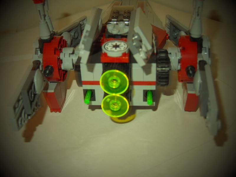 [Revue] Lego Star Wars 75039 V-Wing Starfighter 04110
