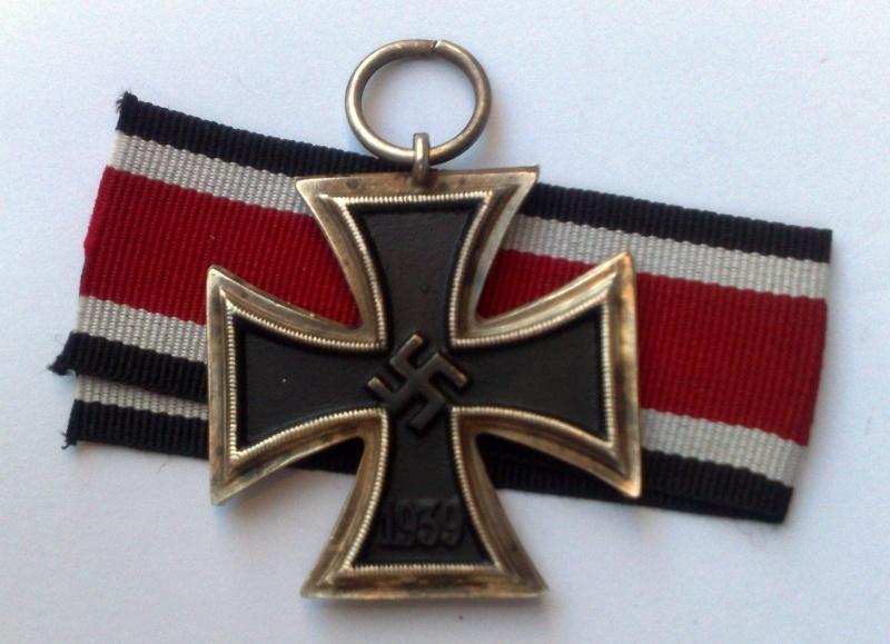 Croix de fer 1er classe 1914 et Croix de fer 2ème classe 1939 24022014