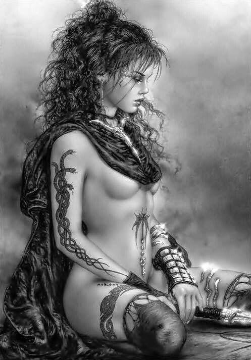 Ilustraciones mujeres guerreras 6d3a8710