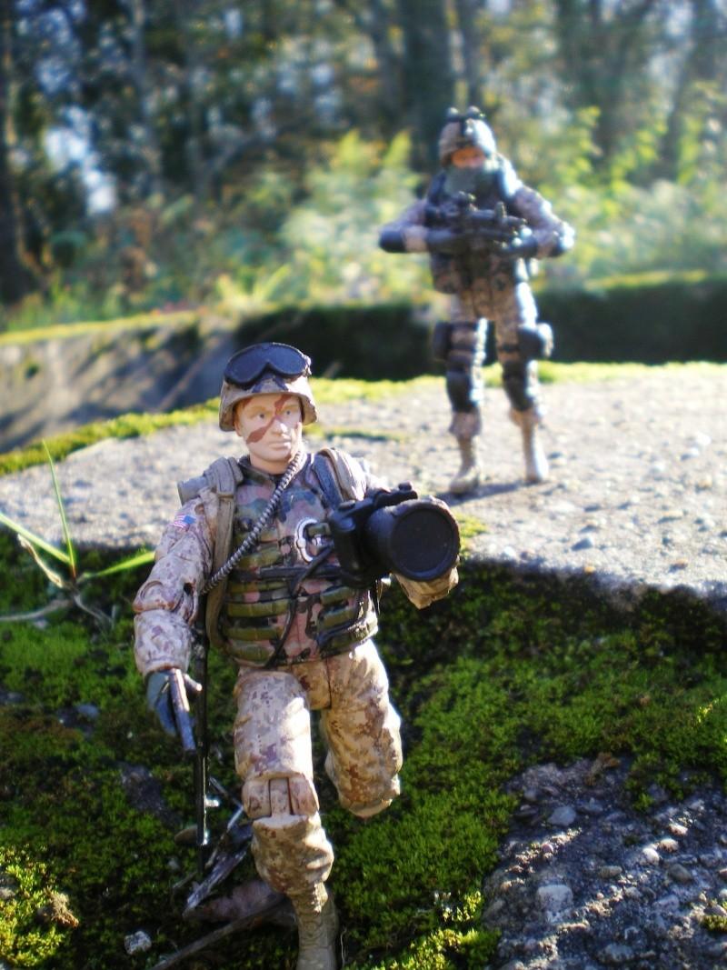 Selvaland, mes soldats en action Imgp4513