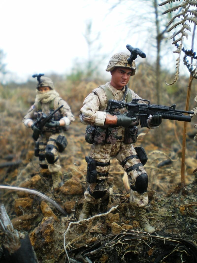 Selvaland, mes soldats en action Imgp5111