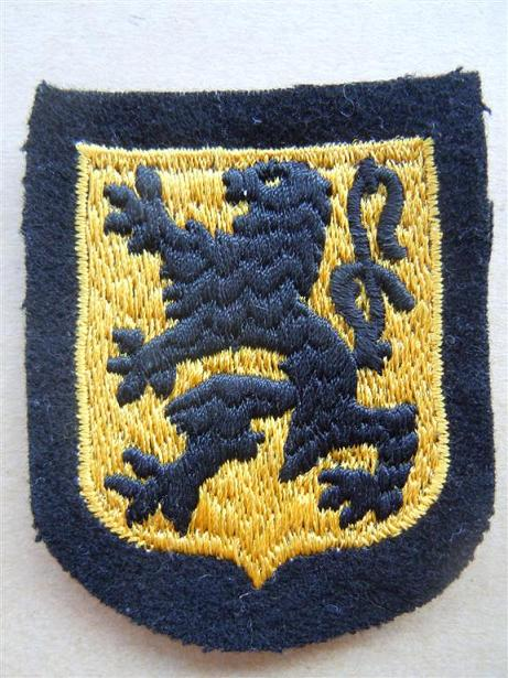 Insigne de nationalité - SS FLAMAND VLAMINGEN OP Lion3_10