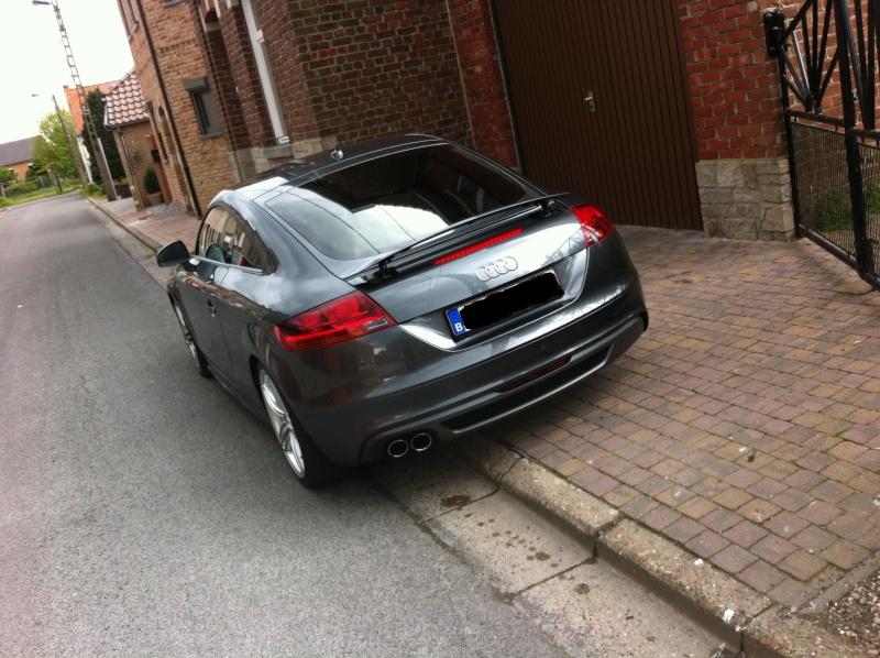 Présentation d'un petit TT 1.8 TFSI Audi_t16