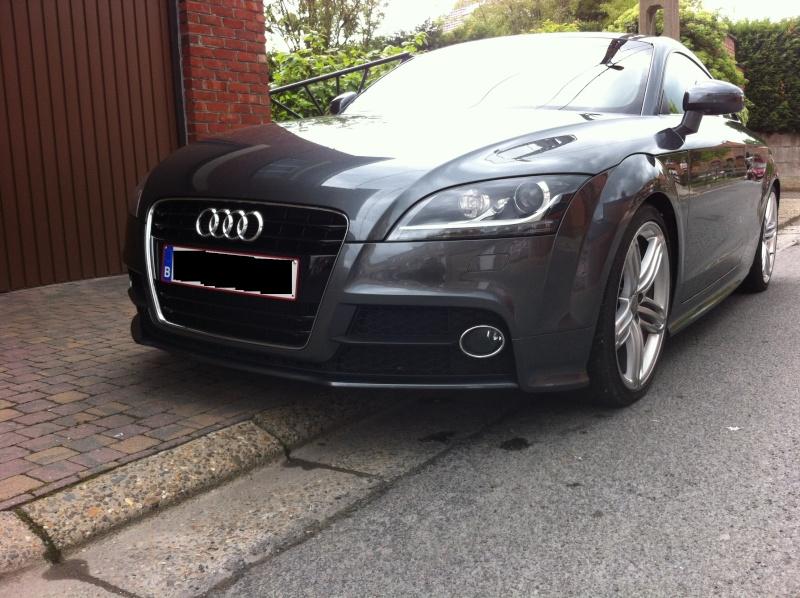 Présentation d'un petit TT 1.8 TFSI Audi_t18