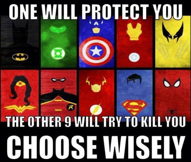 Pick Wisely - Superhero Edition 10464110