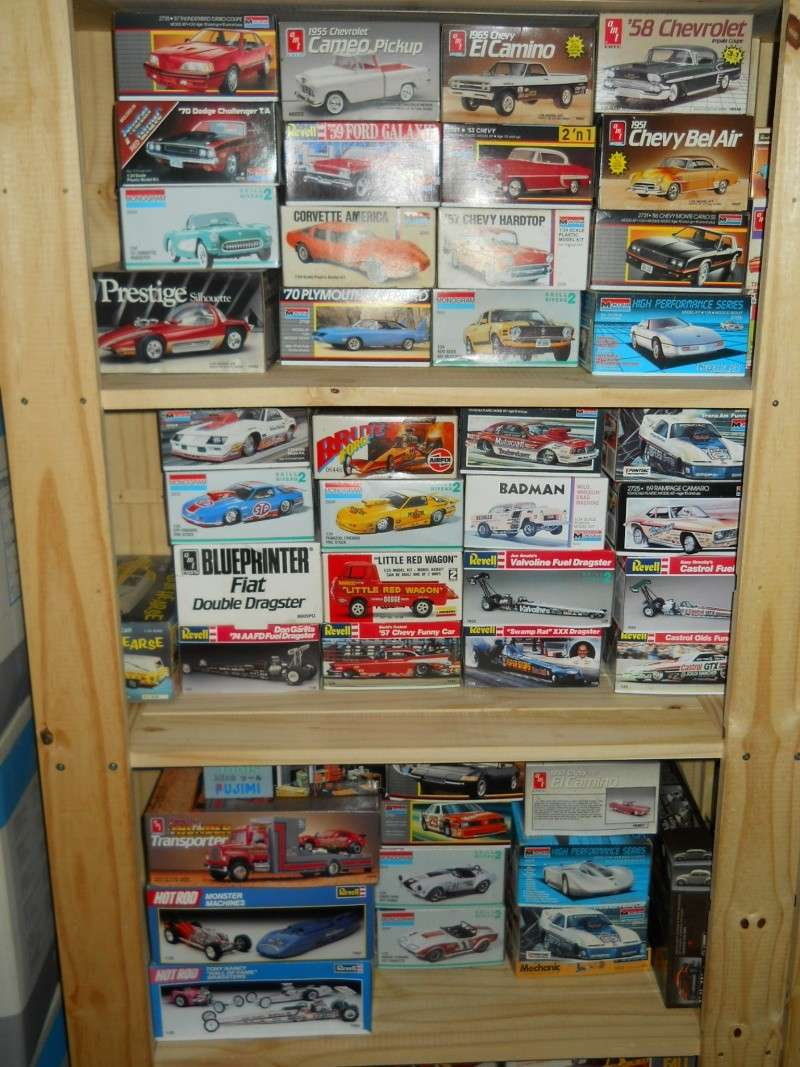 Mes kits de quand j'étais jeune. Maquet24