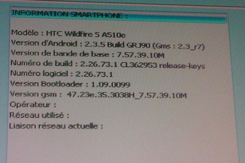 [TUTO] Passer un HTC d'une ROM opérateur à une ROM officielle OU débricker SANS GOLDCARD ! - Page 18 Imag0010