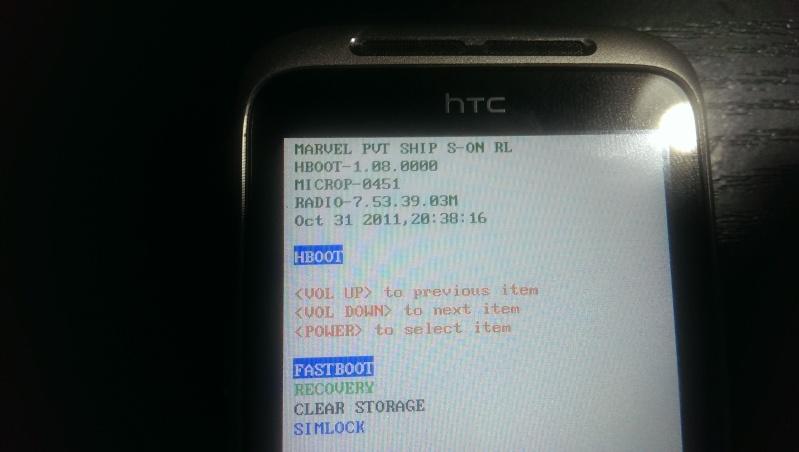[TUTO] Passer un HTC d'une ROM opérateur à une ROM officielle OU débricker SANS GOLDCARD ! - Page 17 Imag0411