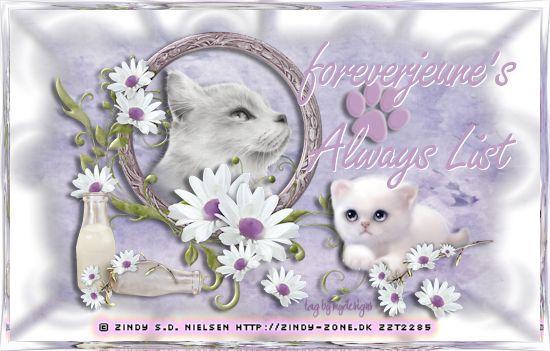 foreverjeune's Alway List  (November/December) Pawsal14