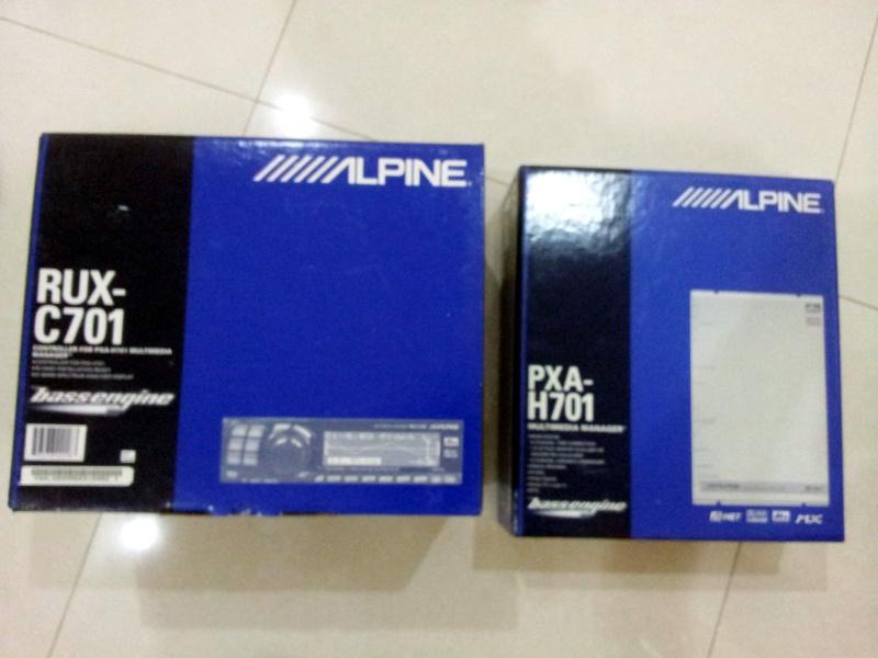 Alpine PXA-H701+C701 (Used) Alpine10