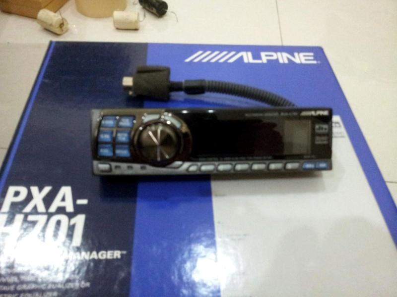 Alpine PXA-H701+C701 (Used) Alpine12