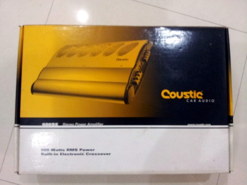 Caustic 600SE 2CH Power Amp (Used) Cousti10