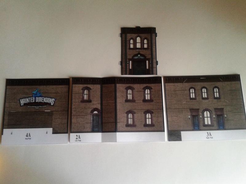 (maquette papier ) Phantom manor  FINI! 20140710