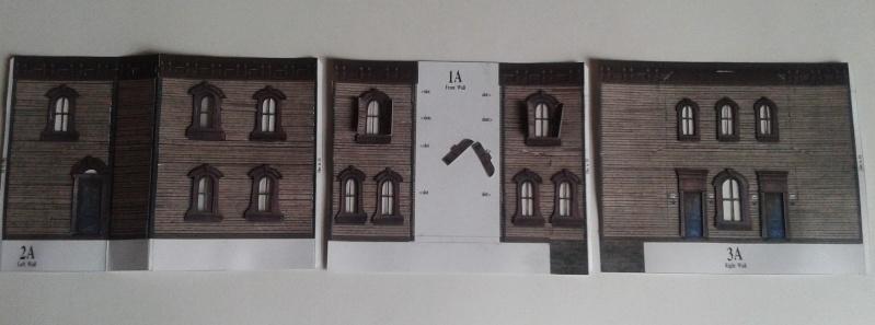(maquette papier ) Phantom manor  FINI! 20140722
