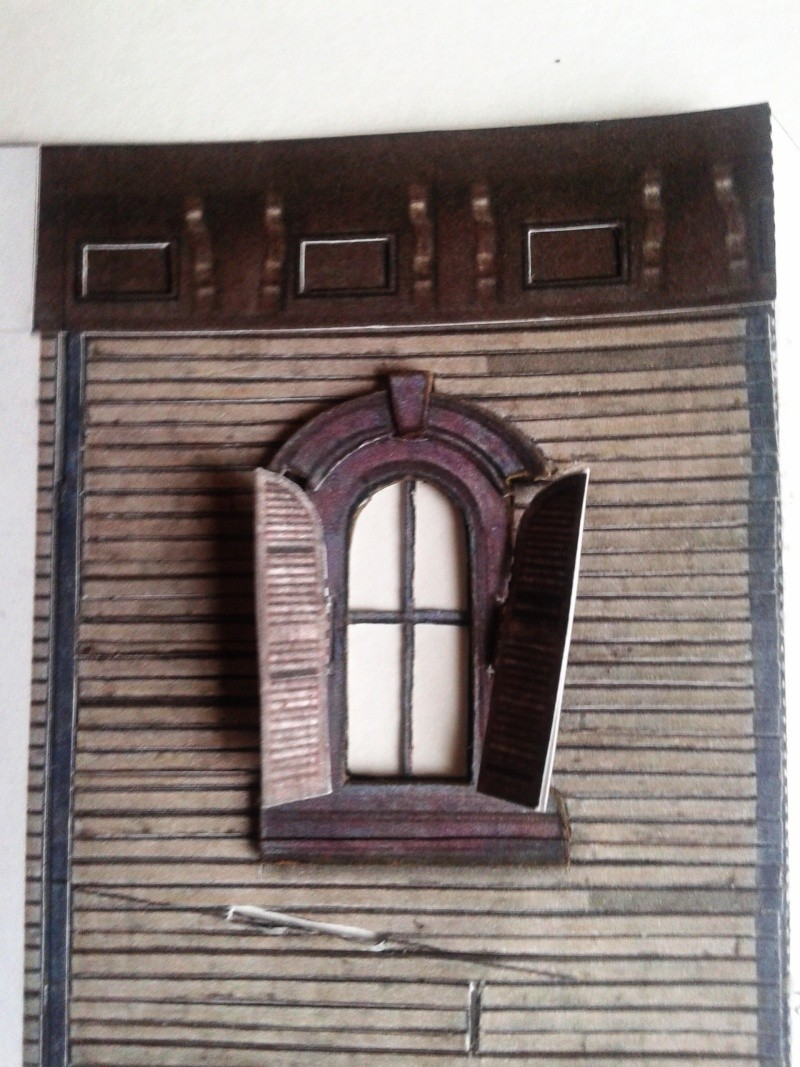 (maquette papier ) Phantom manor  FINI! 20140723