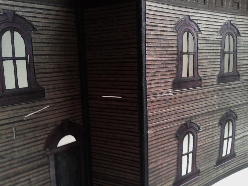 (maquette papier ) Phantom manor  FINI! 20140724
