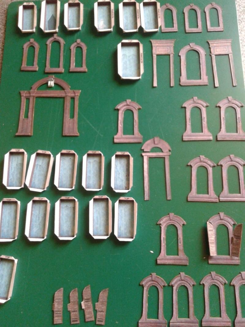 (maquette papier ) Phantom manor  FINI! 20140725