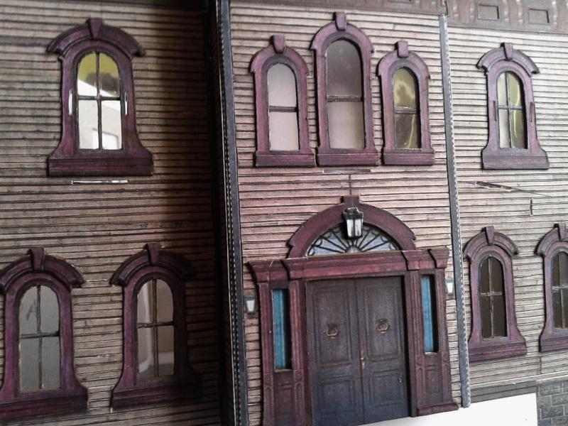 (maquette papier ) Phantom manor  FINI! 20140726