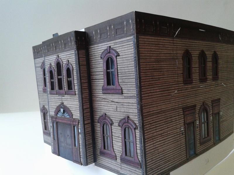 (maquette papier ) Phantom manor  FINI! 20140728