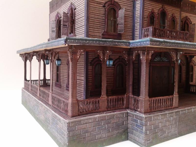 (maquette papier ) Phantom manor  FINI! 20140738