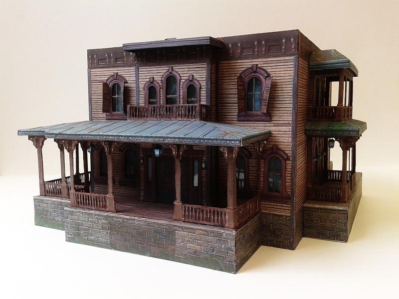 (maquette papier ) Phantom manor  FINI! 20140743
