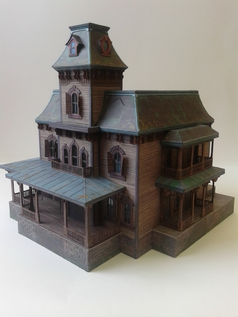 (maquette papier ) Phantom manor  FINI! 20140750