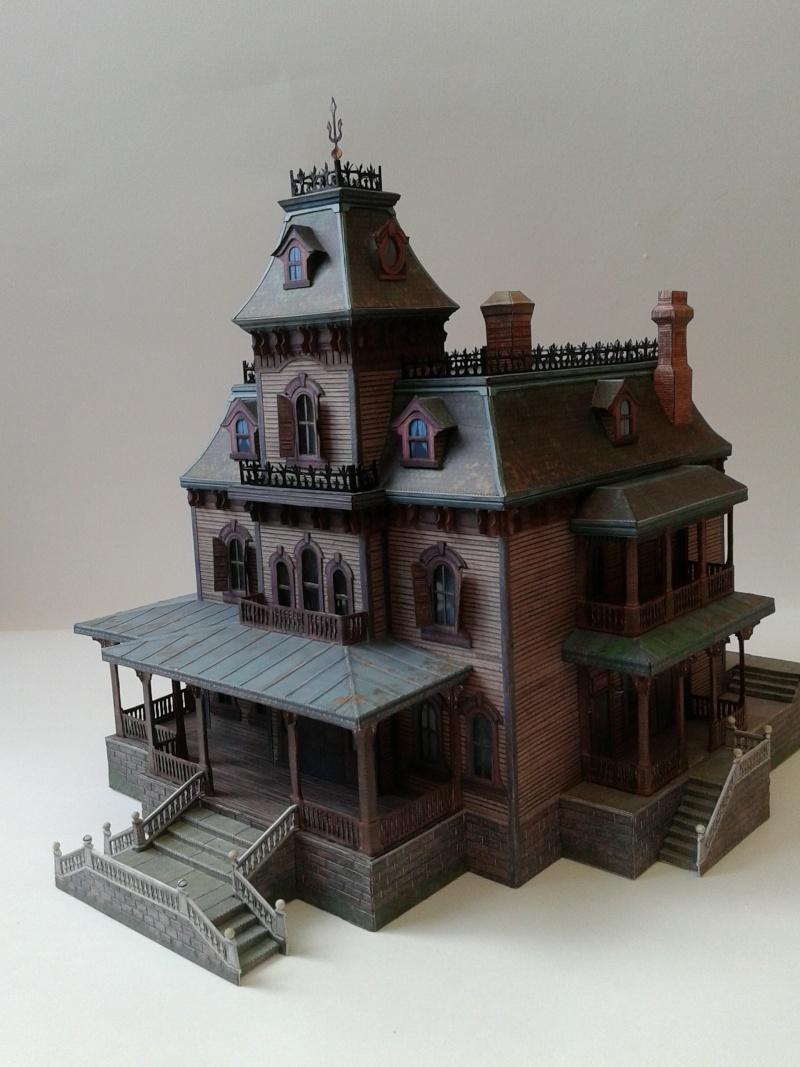 (maquette papier ) Phantom manor  FINI! 20140820