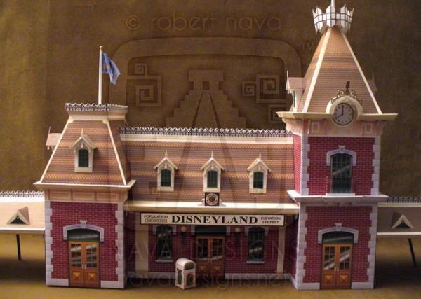 (maquette papier ) Phantom manor  FINI! - Page 2 Disnav10