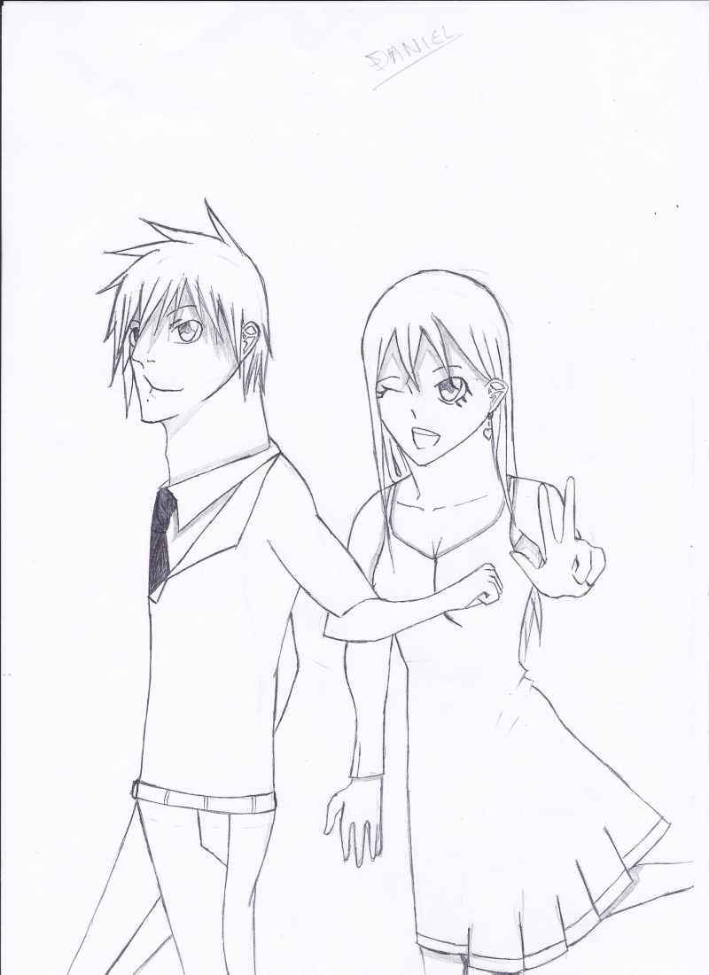 Mes dessins : Stereotype Couple10
