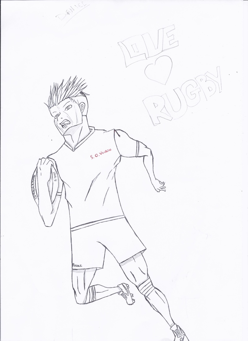 Mes dessins : Stereotype Rugby10
