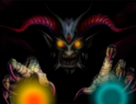 """écran titre """"devil"""" améliorer =) Devil10"""