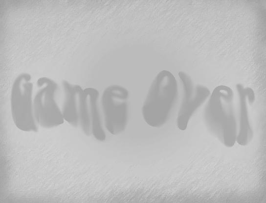 un GameOver (eh oui encore un) =) Gameov13