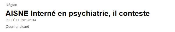 Le courrier Picard - psychiatrie - Neptune