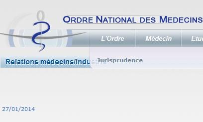 Fichier Liens d'intérêt de l'Ordre des Médecins - Neptune