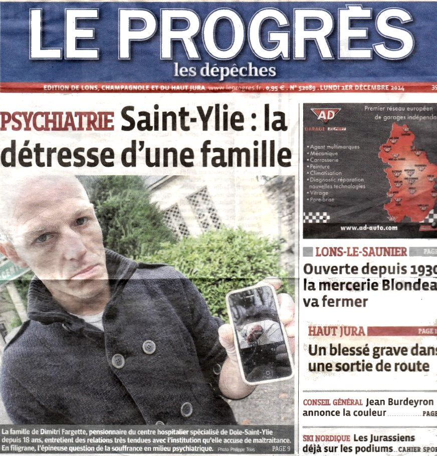 """""""Le Progrès"""" sert la soupe à l'hôpital psychiatrique Saint-Ylie de Dole Progre10"""