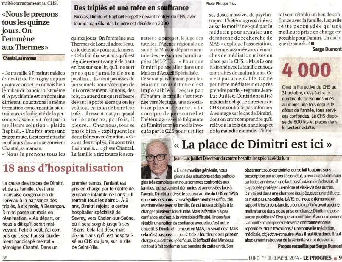 """""""Le Progrès"""" sert la soupe à l'hôpital psychiatrique Saint-Ylie de Dole Progre12"""