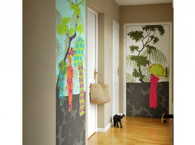 Peinture d'un couloir étroit et assez long Dessin10