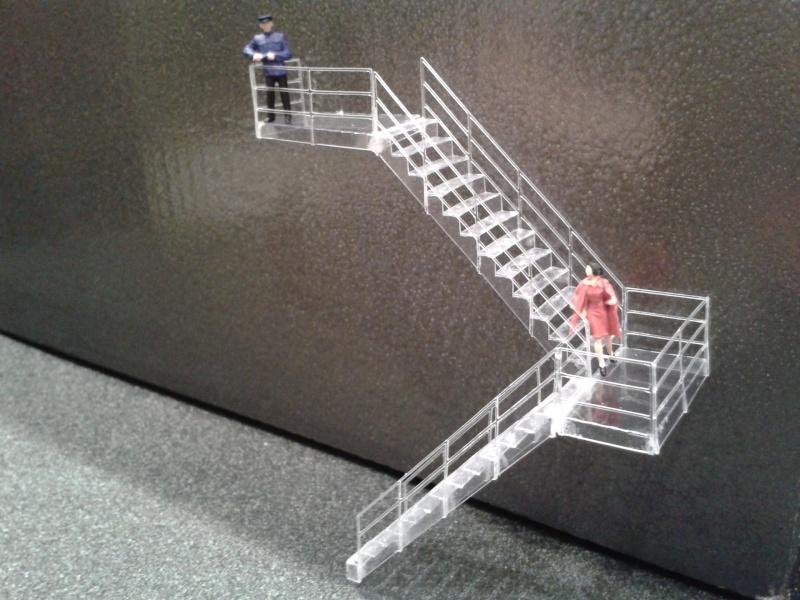 Escaliers pour détaillage de batiment 2014-112