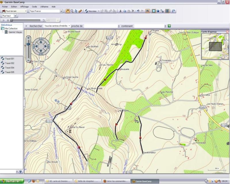 Ulitilisation basecamp pour GPS Base110