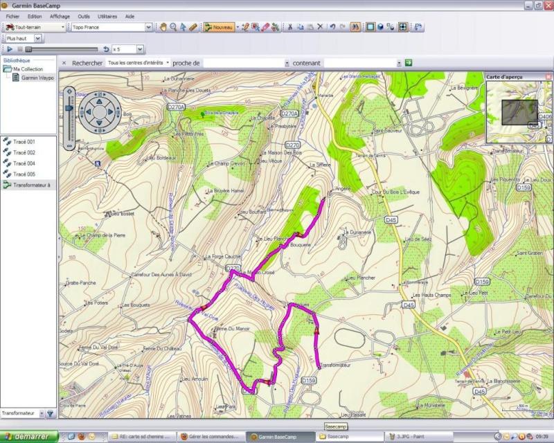 Ulitilisation basecamp pour GPS Base410