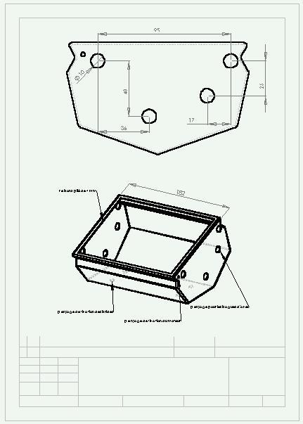 fabrication d'un dérouleur de road book electrique Rb310