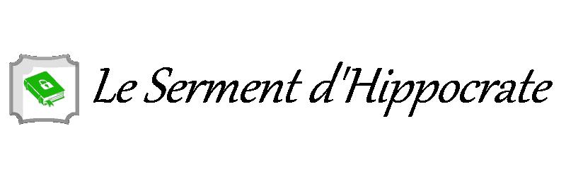 Le Serment d'Hippocrate [Helsephine]