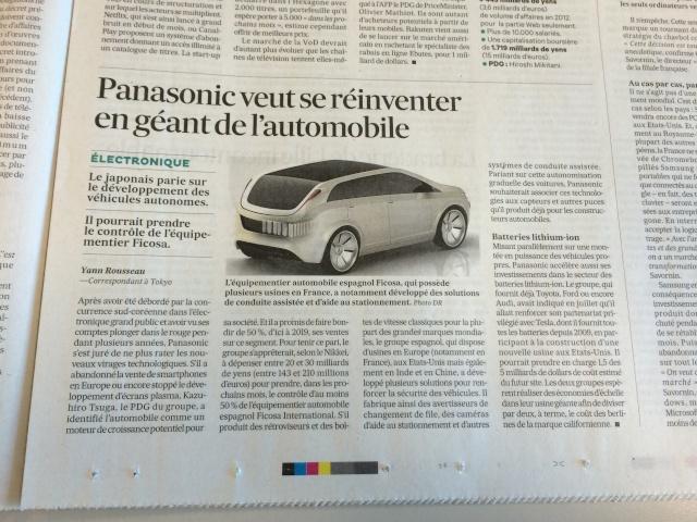 """Presse du 26/09 - """"Panasonic veut se reinventer en géant de l'automobile"""" Img_0211"""