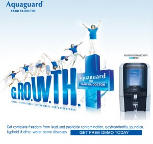 Get A Free Demo Of Eureka Forbes Aquaguard at Your Home 138-3010