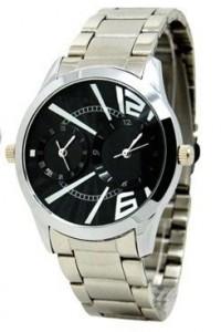 Dual Dial & Dual Time Formal Designer Men's Wrist Watch @ Rs.599 3041-210