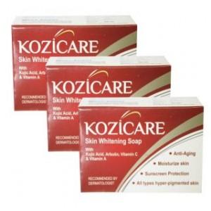 Kozicare Pack of 3 Skin Whitening Soap For Moisturized Skin @ Rs.180 489-3011