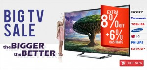 The Bigger The Better – Big Sale For LED and Plasma TV 676-3010